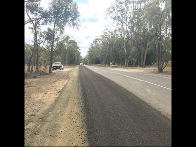 Road Widening Works - Oallen Ford Rd, Bungonia.